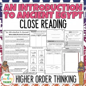 An Introduction to Ancient Egypt Reading Comprehension Passages and Questions