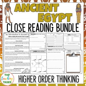 Ancient Egypt Reading Comprehension