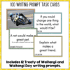 Back to School Daily Writing Prompts 2