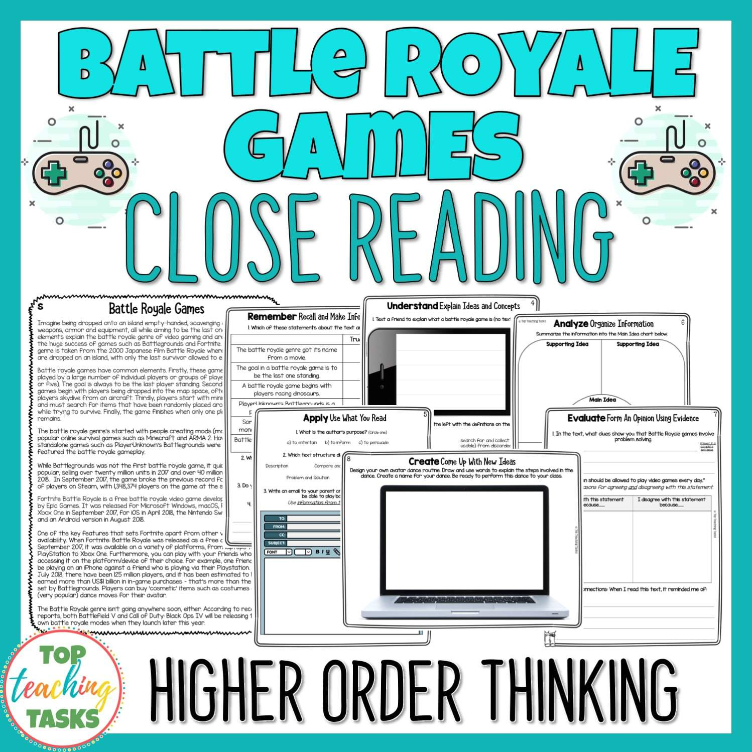- Fortnite Reading Comprehension Passages And Questions Top