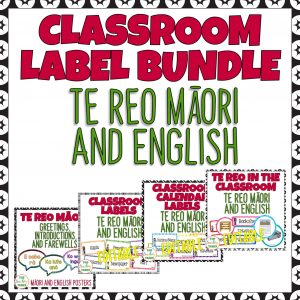 Classroom Display Labels