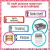 Classroom display labels