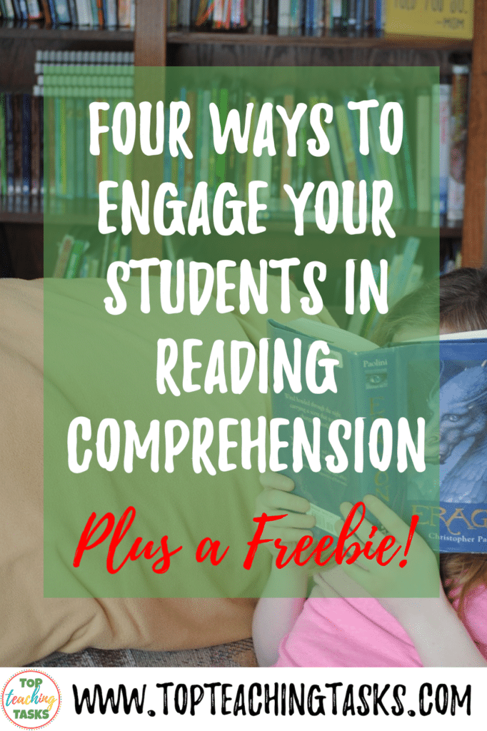 It is a great step once students can decode the words they read on the page. However, the real power in reading comes when they can understand and interpret what they are reading. With this in mind, it is important to ensure students are engaged in their reading comprehension activities.