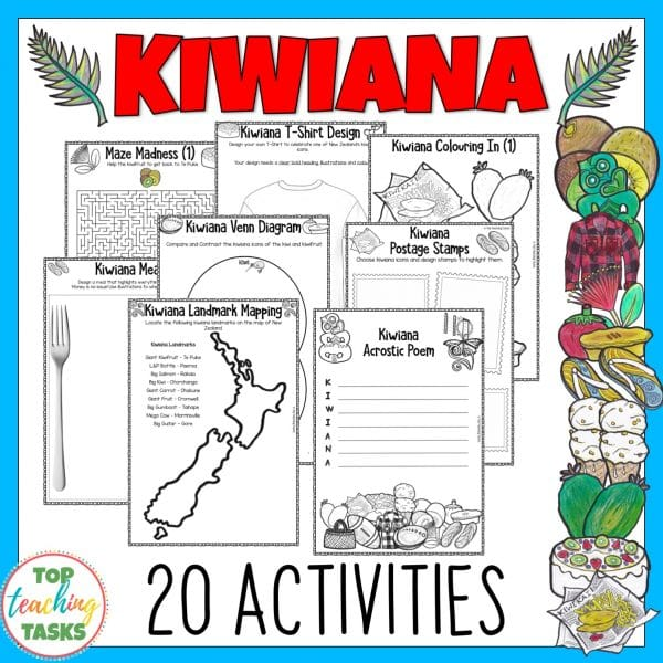 Kiwiana Activity Pack
