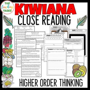 Kiwiana Reading Comprehension