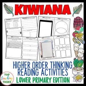 Kiwiana Reading Comprehension Passages and Questions Year 3 and 4