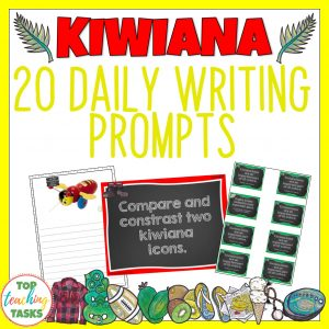 Kiwiana Writing Prompts