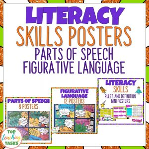 Literacy Skills Posters