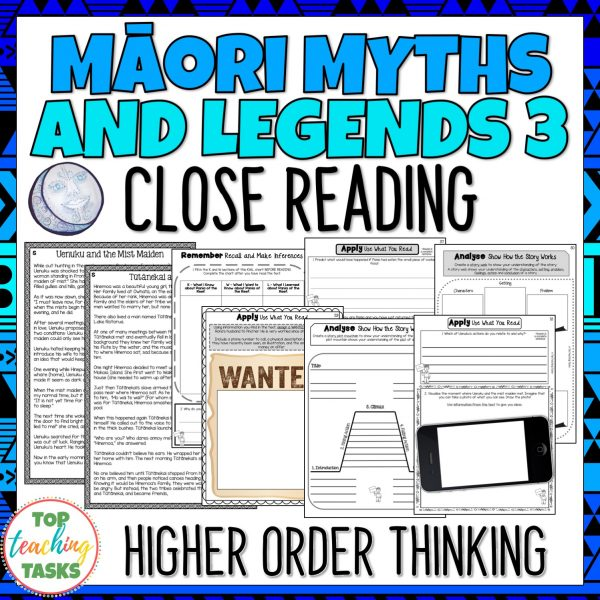 Maori Myths and Legends 3