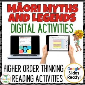 Maori Myths and Legends digital