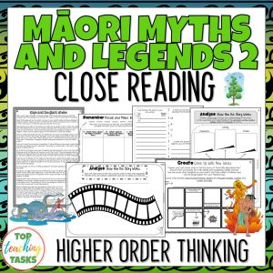 Maori Myths and Legends 2