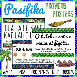 Pacific Islands Growth Mindset Proverbs