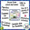 Punctuation Digital Task Cards Paperless Google Drive Resource 1