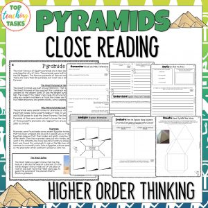 Pyramids Reading Comprehension