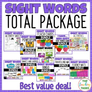 Sight Words Activities Bundle