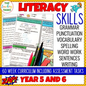 Literacy Skills Activities Year 5-6