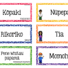 Te Reo Māori and English EDITABLE Classroom Decor Labels 3