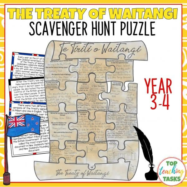 Treaty of Waitangi Puzzle