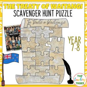 Waitangi Day Puzzle