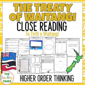 Treaty of Waitangi Reading Comprehension Passages and Questions