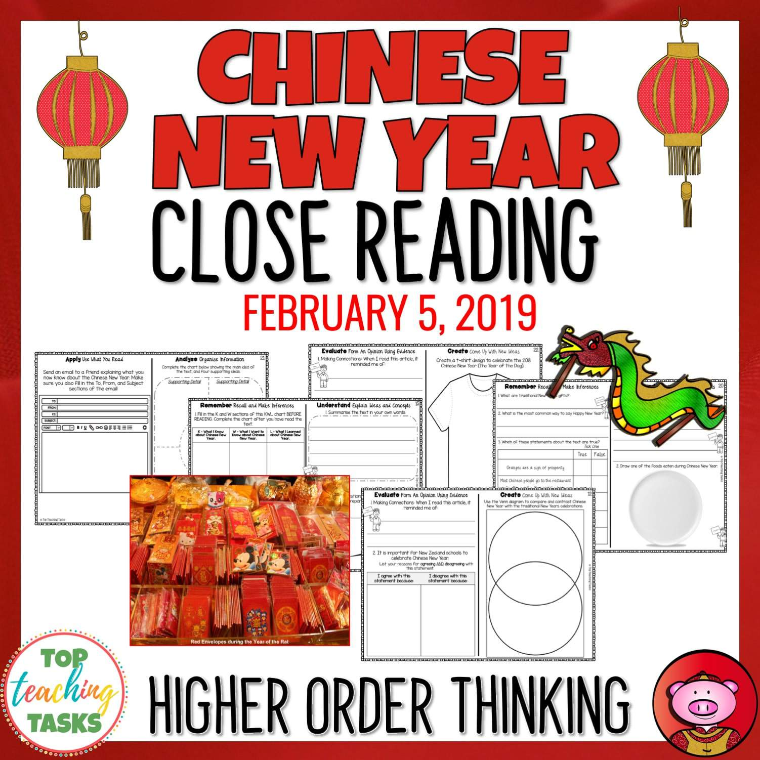 chinese new year reading comprehension passages and questions top teaching tasks. Black Bedroom Furniture Sets. Home Design Ideas