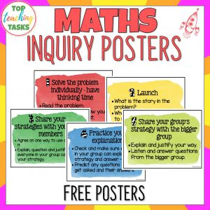 Maths inquiry posters 1