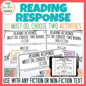 Reading Response Must Do Choose Two