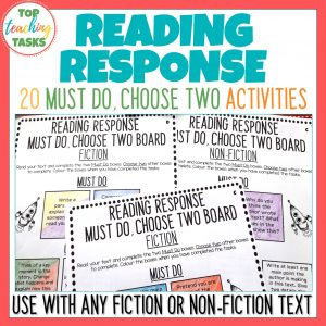 Reading Response Worksheets