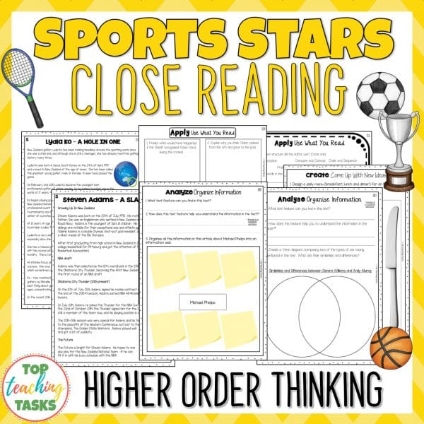 Sports Reading Comprehension