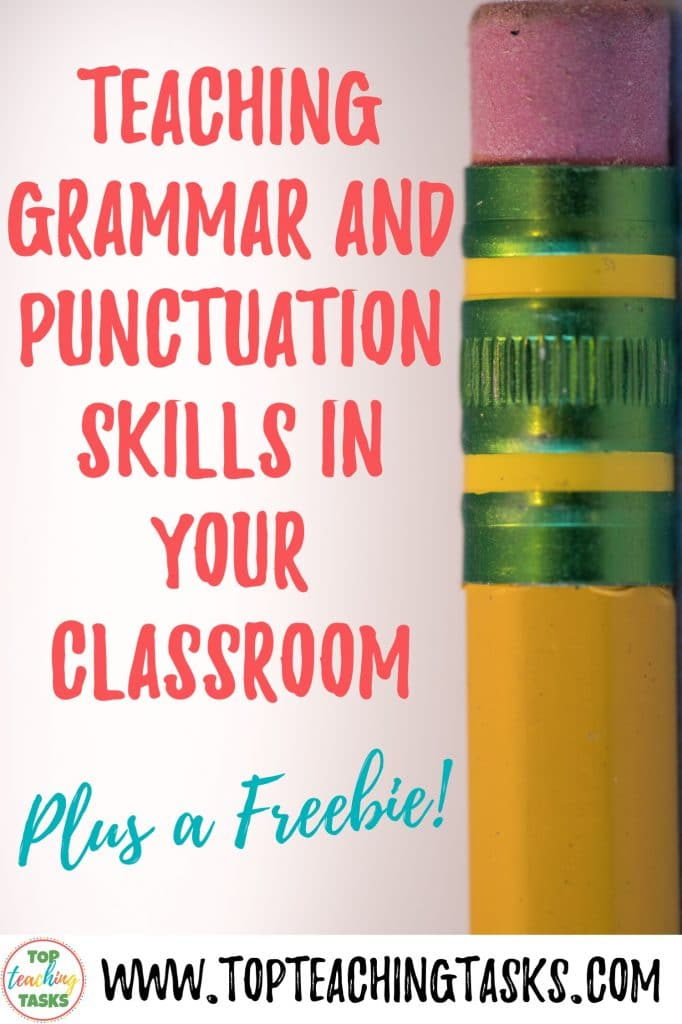 Teaching grammar and punctuation skills are essential in your classroom writing program. Your students need to be using parts of speech correctly, developing figurative language, extending their use of sentence structure, using punctuation correctly, and further learning how words work. Keep reading to gain some great practical tips and ideas for how to teach the skills of writing, grammar and language in your upper primary classroom.