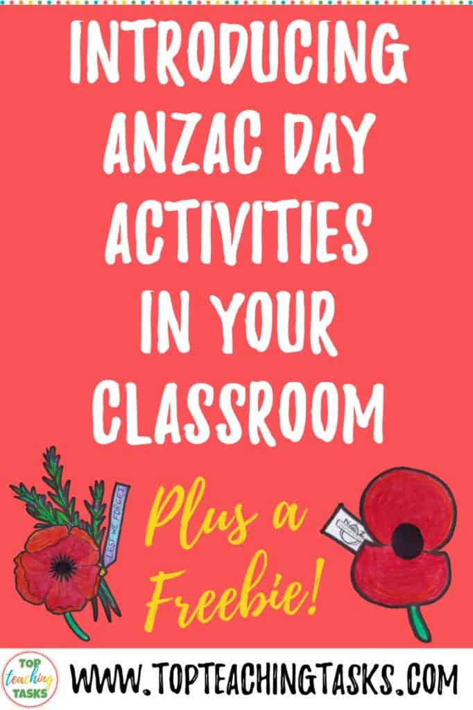 Teacher created material - Anzac Day is an important part of both Australia and New Zealand