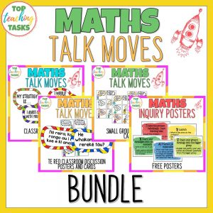 Maths Talk Moves Bundle