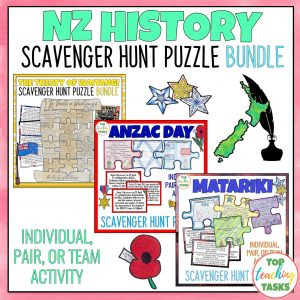 New Zealand History Scavenger Hunt