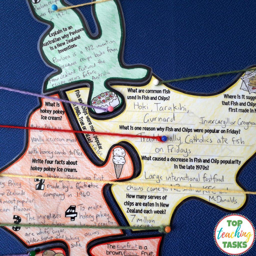Explore New Zealand Geography And Kiwiana Culture Top Teaching Tasks