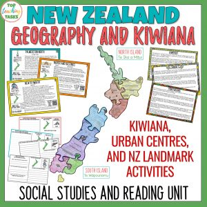 New Zealand Geography and Kiwiana