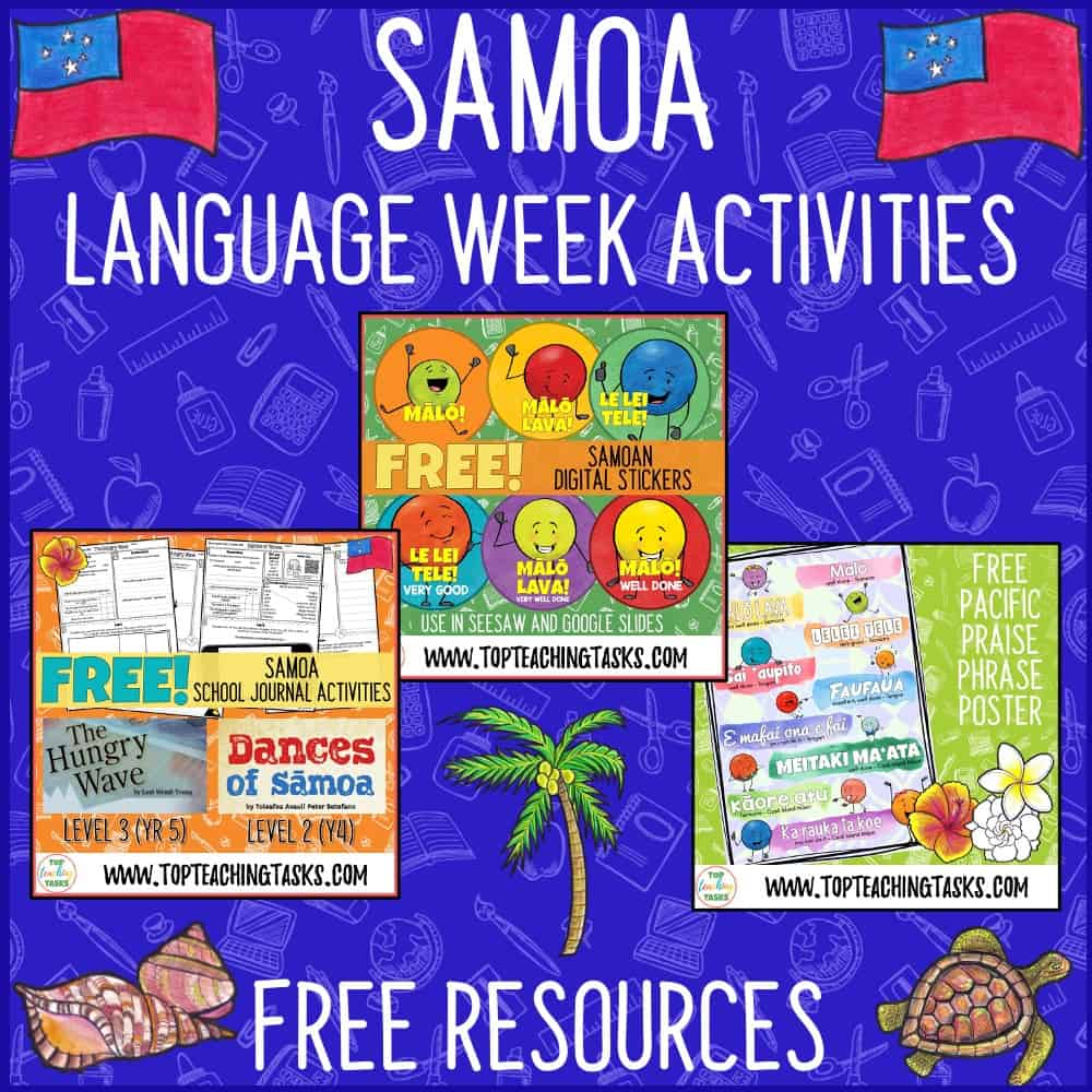 Samoan Language Week Freebies. Click here to see our great range of digital and print-based Samoan Language Week free resources. Samoa Language Week takes place in May each year.