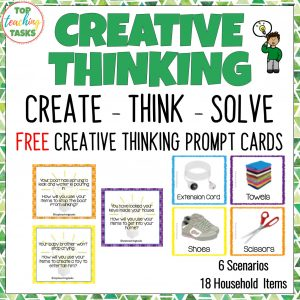 Creative Thinking Cards free