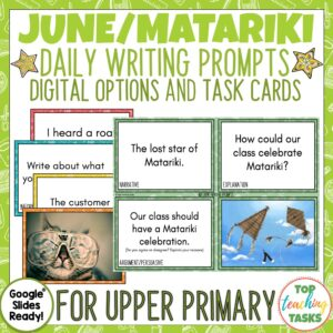 June and Matariki Writing Prompts