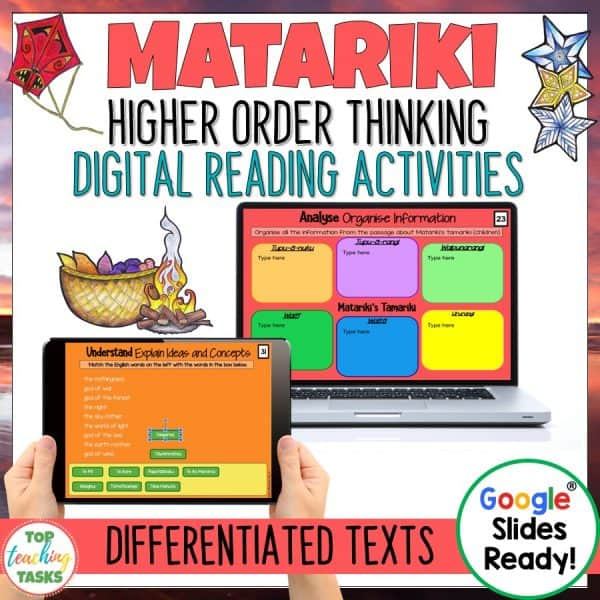 Matariki Digital Reading Compehension