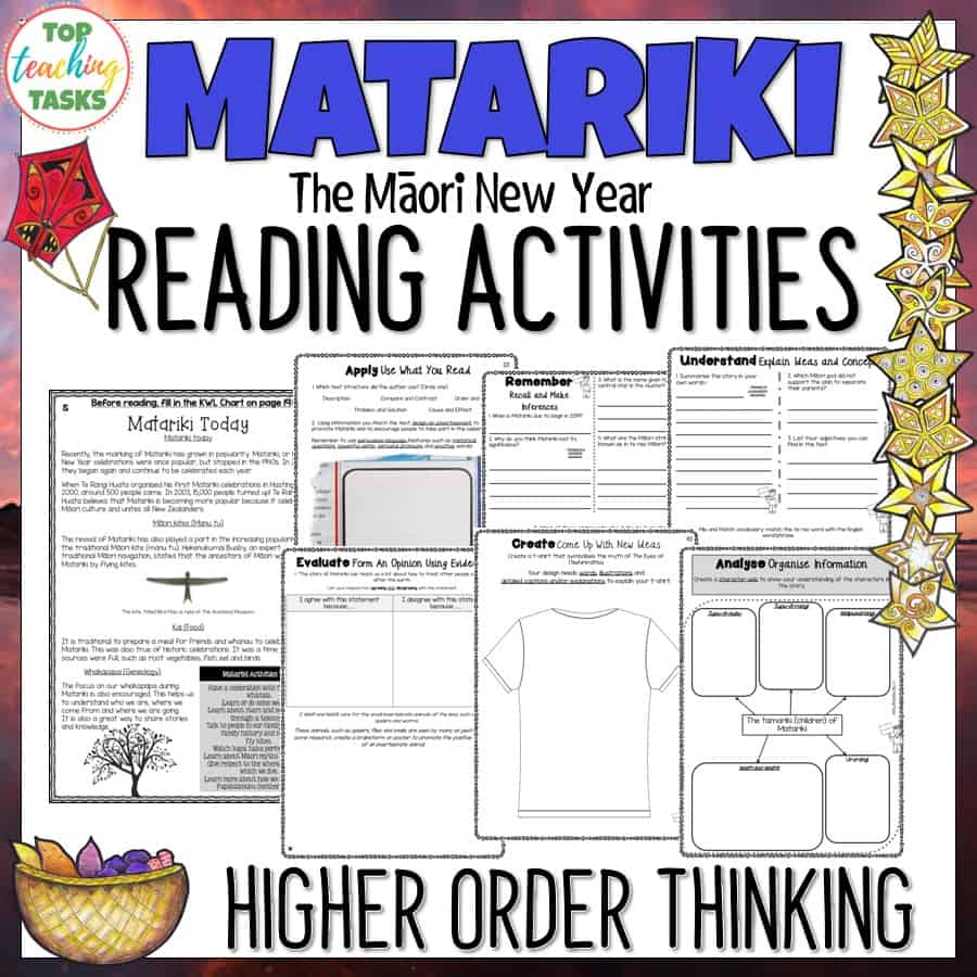 Matariki Reading Prehension Passages And Questions