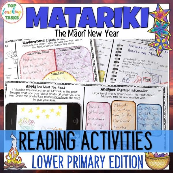 Matariki Reading Lower Level