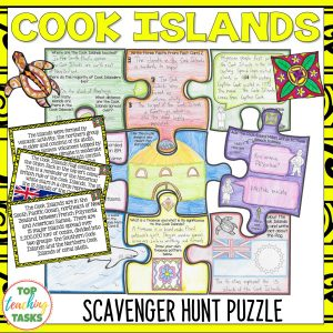 Cook Islands Scavenger Hunt Puzzle