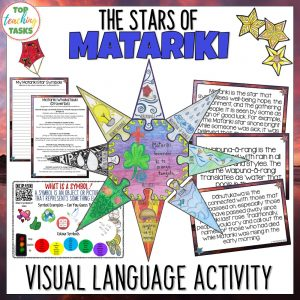 The Stars of Matariki visual language