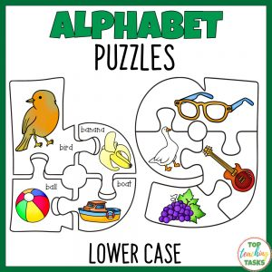 Alphabet Puzzles lower case