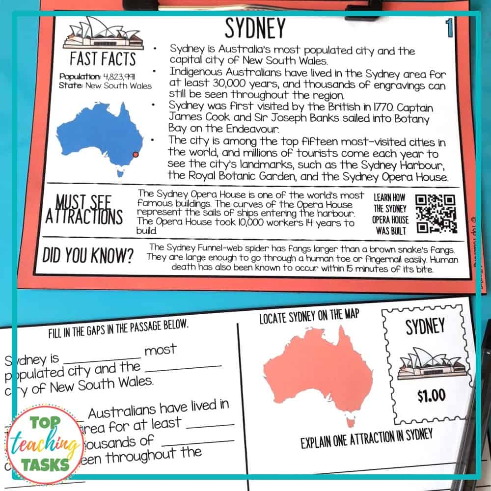 Australian Geography and Landmarks 2