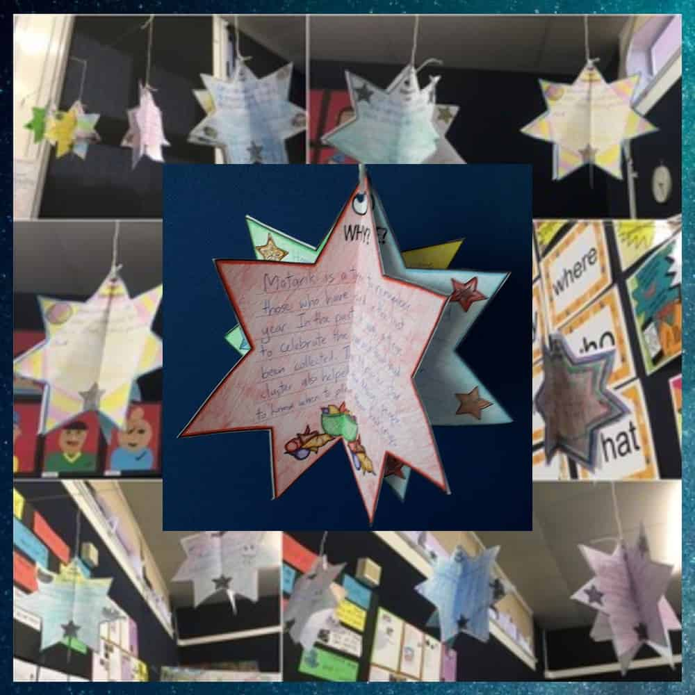 Let us save you time this Matariki with our New Zealand Matariki 3D Stars. These easy to assemble 3D ornaments look great hung or displayed in the classroom or home. Flexibility is key with this resource. Choose how many templates you use (from three to nine), complete the templates and colour, then assemble and display. Learn about the Māori New Year. #Matariki