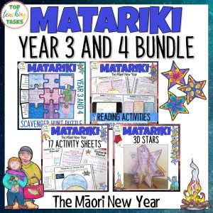 Matariki Year 3 and 4 Bundle