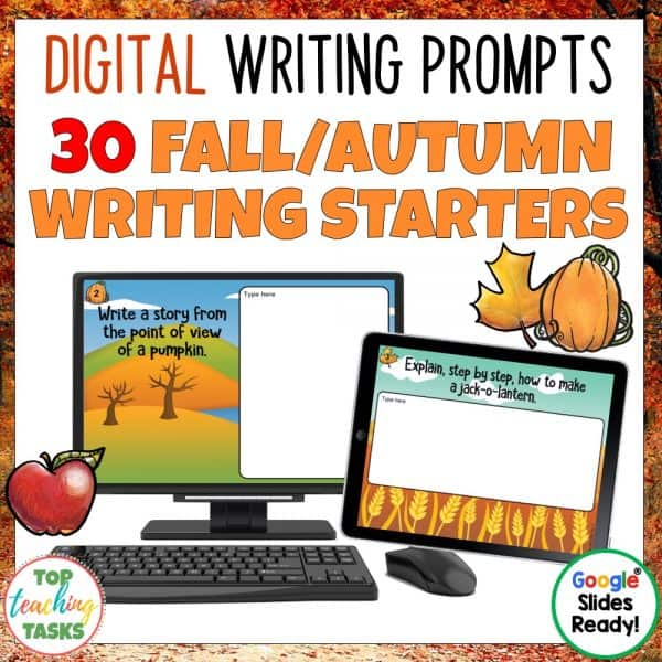 Daily Writing Prompts Autumn