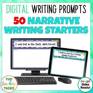 Daily Writing Prompts Narrative