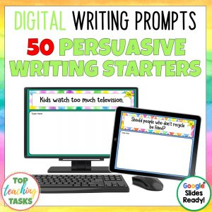 Daily Writing Prompts Persuasive